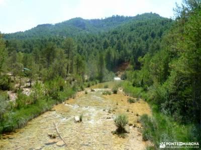Río Escabas-Serranía Cuenca; rutas de viajes por españa parque nacional cazorla grupo
